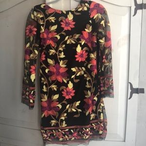 Floral embroidered dress from a Neiman Marcus